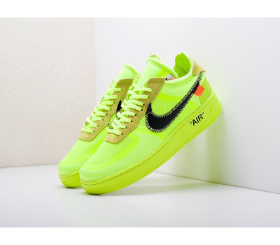 Кроссовки Nike x OFF-White Air Force 1 Low